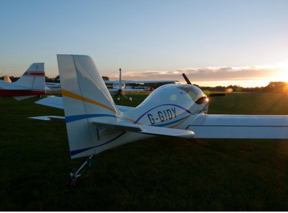Europa aircraft for sale G-GIDY